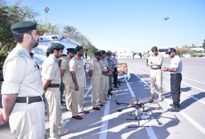Dubai Police invents drone to defuse bombs