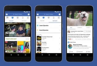Facebook launches Watch video platform