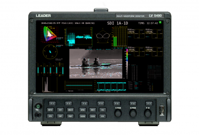 Leader to showcase Independent Extended Display for LV5490 at IBC 2017