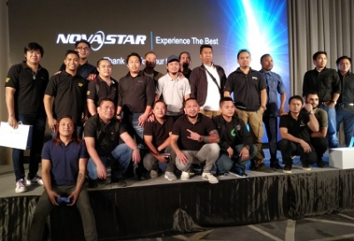 NovaStar holds partner event in Dubai