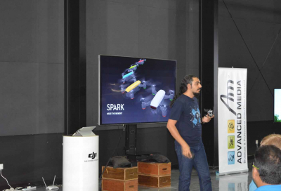 IN PICS: AMT and DJI demo drones in Dubai