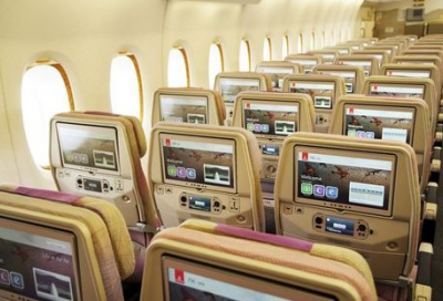 Emirates' inflight entertainment system voted world's best