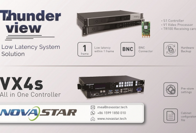 Novastar introduces low latency LED solution
