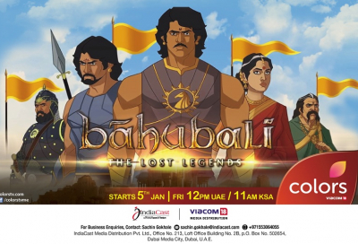 COLORS TV ME presents the Television premiere of Bahubali: The Lost Legends