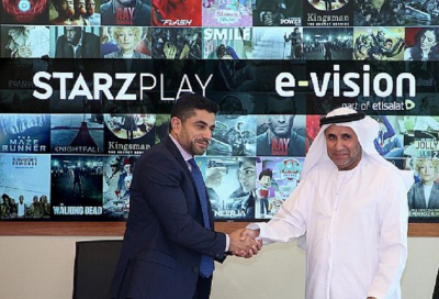 Etisalat's E-Vision signs five year exclusive deal with Starz Play