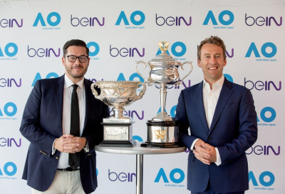 beIN extends Australian Open partnership until 2024