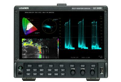 Leader Test Instruments Chosen for 4K HDR APAC Sports OB