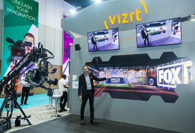 Top Exhibitor Stands at CABSAT 2018