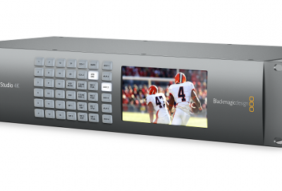 Blackmagic Design launches Ultra HD live production switcher