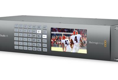 Blackmagic Design launches Ultra HD live production switcher