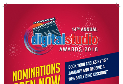Digital Studio Awards 2018: Nomination close tomorrow