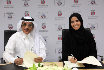 Abu Dhabi Media Zone Authority and Saudi's GRTO sign MoU to boost media development