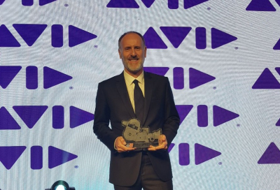 Martin Stewart recognised as 'Broadcast Executive of the Year'