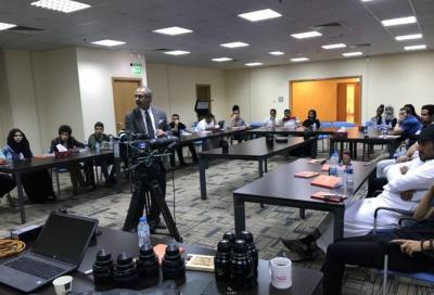 Sharjah Media City (Shams) holds Cinematography Workshop