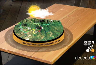 Accedo to demo AR live viewing experience at NAB