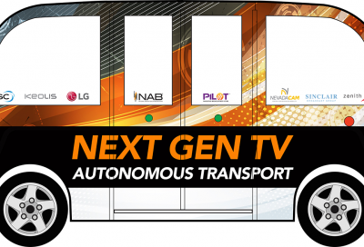 Next Gen TV self driving vehicle will transport visitors at NAB Show 2018
