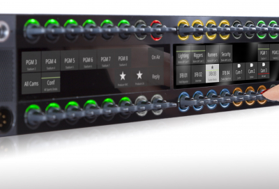Riedel Communications introduces 1200 series SmartPanel at NAB