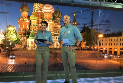 Gearhouse Broadcast delivers Moscow studios and remote production capabilities for Brazil's Globo