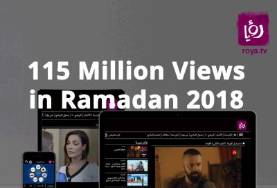 Roya TV  online channels garner 115 million views during Ramadan