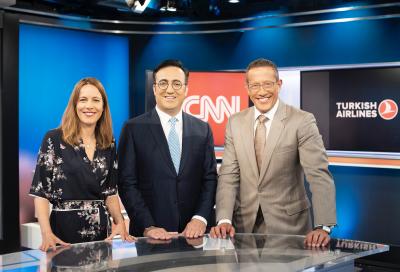 Turkish Airlines sponsors CNN's Richard Quest show
