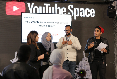 YouTube NextUp contest calls for next generation of Arab stars