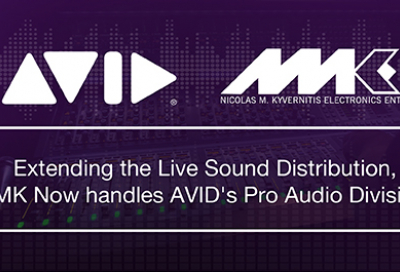 Avid appoints NMK as Pro Audio distributor for Middle East