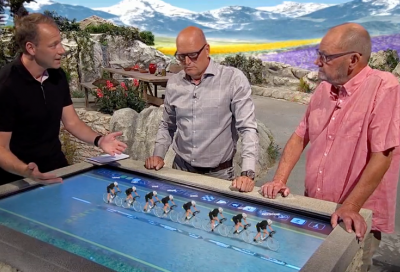 TV 2 brings virtual reality to Tour de France coverage with Vizrt