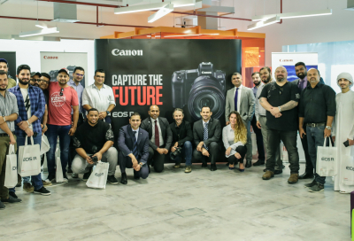 Canon launches new EOS-R in Dubai