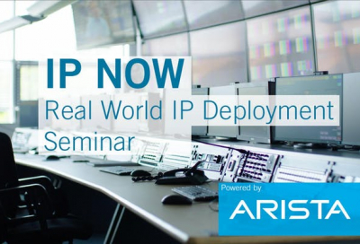 Arista and Lawo to hold seminar in Dubai on IP deployment