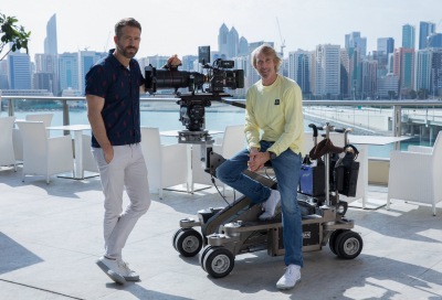 Ryan Reynolds and Michael Bay kick off '6 Underground' production in Abu Dhabi