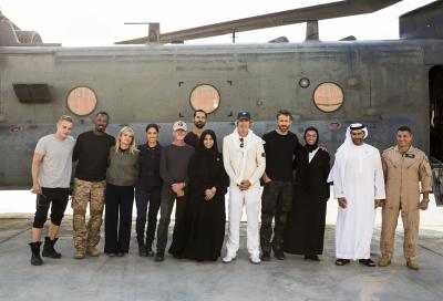 Netflix flick 6 Underground completes filming in UAE