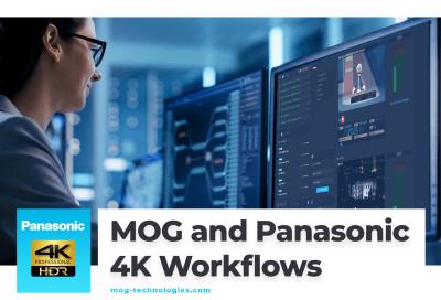 MOG joins Panasonic partner program on 4K workflows