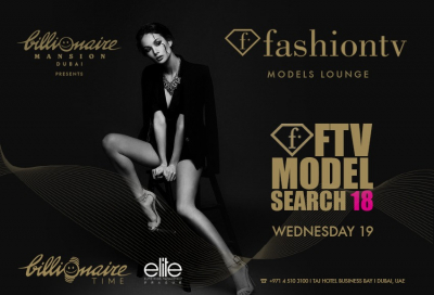 FashionTV opens Dubai office, launches series to discover Dubai's top model and TV host