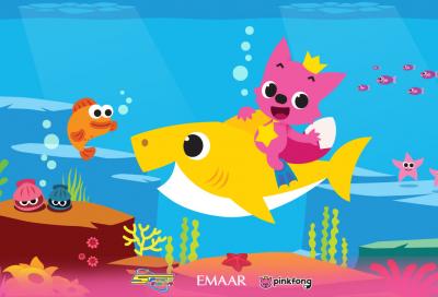 Spacetoon brings Baby Shark to The Dubai Fountain
