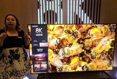 Samsung unveils QLED 8K TV in UAE