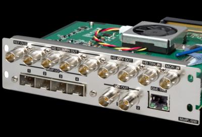Ikegami introduces Media-over-IP interface for CCU-430 camera control unit