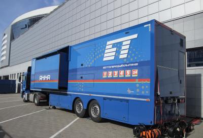 Four new OB vans for European Games 2019 in Minsk