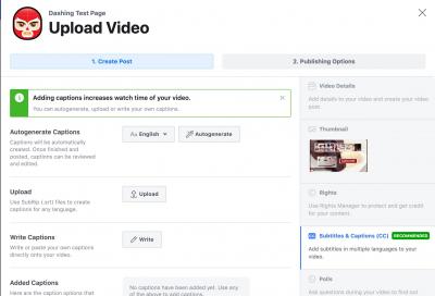 Facebook updates video creator tools