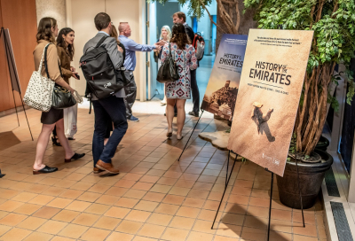 In pictures: History of the Emirates in Washington screening