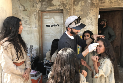 In pictures: BTS of 'Saadiyat al Bahr' (Scales)