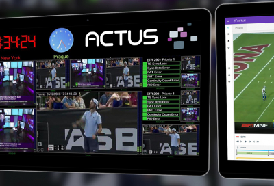Actus Digital to demonstrate all-in-one media platform at NAB 2020
