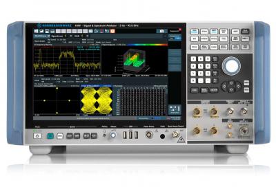 Rohde & Schwarz enables sub-THz ultra wideband signal analysis