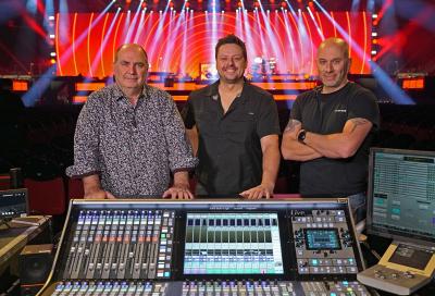 SSL reveals technical details behind Céline Dion's Courage World Tour