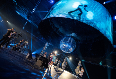 In pictures: CPL's disco themed webcast in the UK