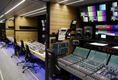 In pictures: See what an all-IP outside broadcast vehicle looks like