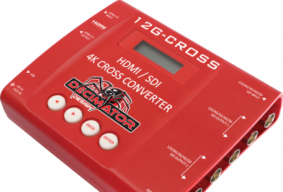 Decimator Design starts shipping its 4K cross converter