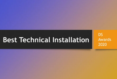 DS Awards 2020 Category Focus: Best Technical Installation