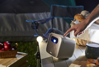 BenQ's launches its latest wireless mini portable projector