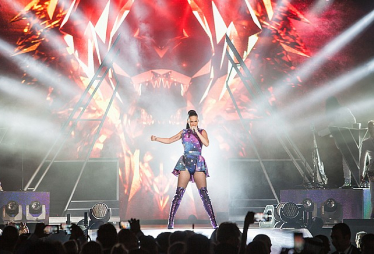 IN PICS: Katy Perry Live in Dubai