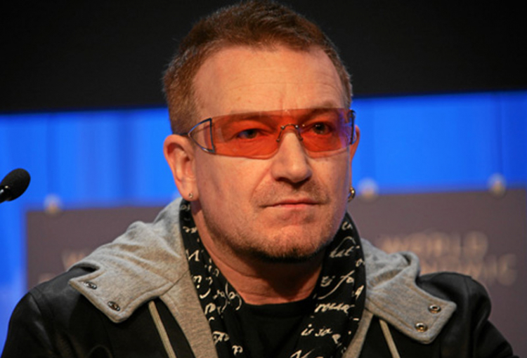 """Bono """"fighting fit"""" after back surgery"""